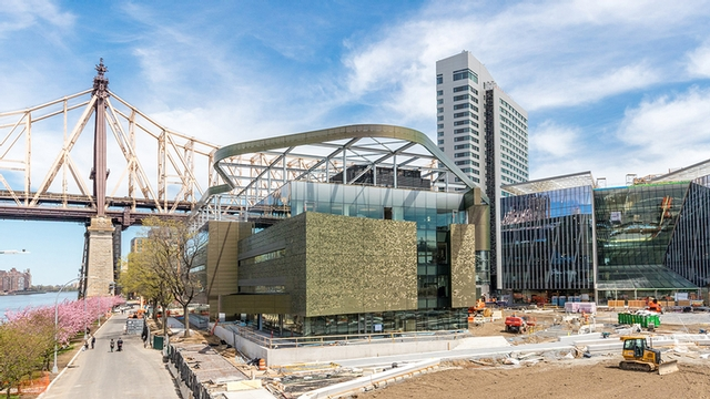 Cornell Tech campus under construction