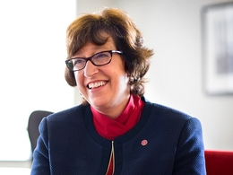 photo of Cornell University President Martha Pollack