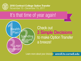 Option Transfer postcard 2018