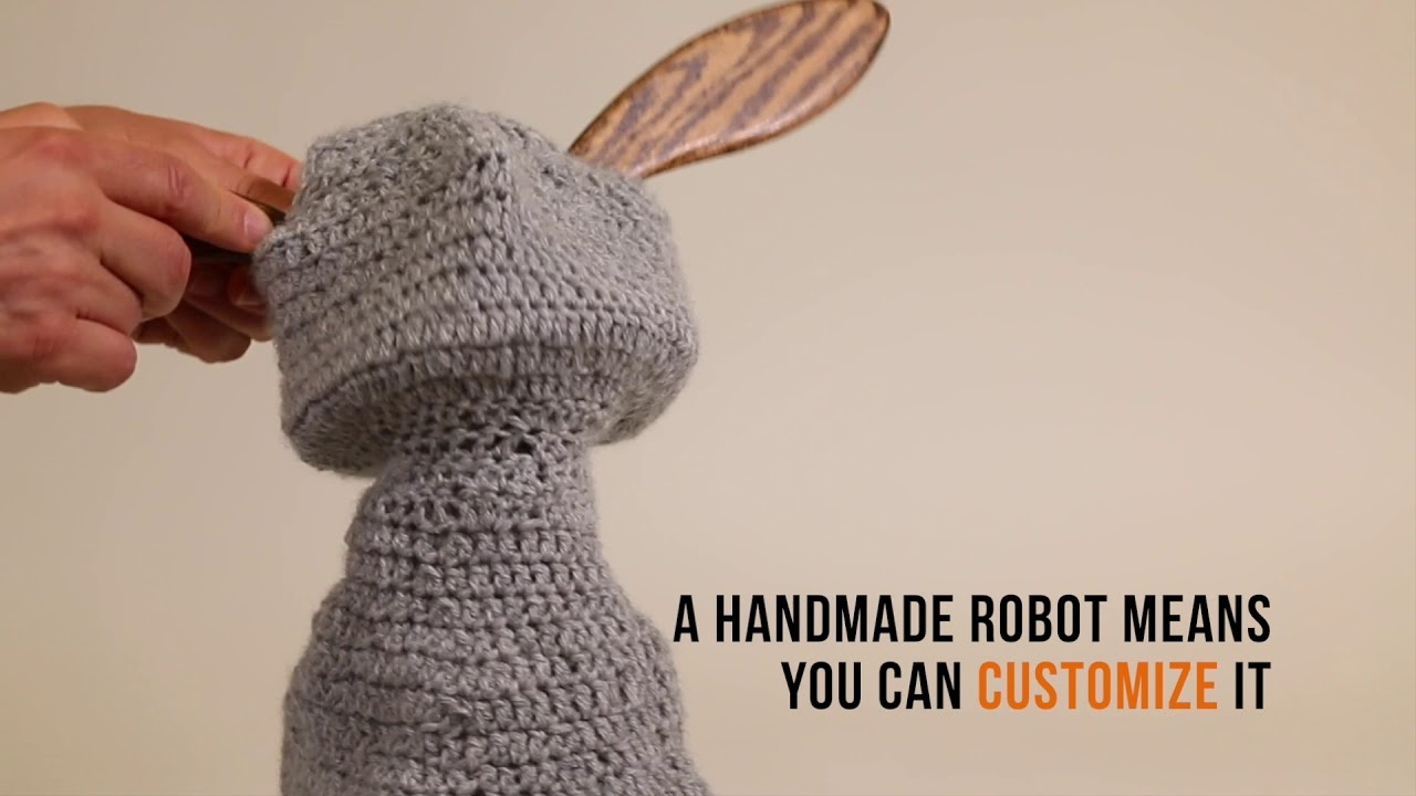 A Handmade Robot Means You Can Customize It
